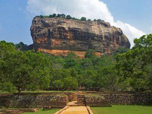 Lwia Skała, Sri Lanka