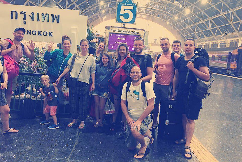 Dworzec kolejowy Bankgok
