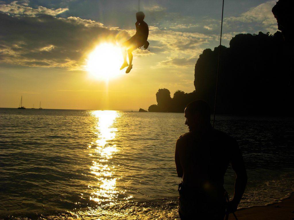 wspinaczka krabi tajlandia