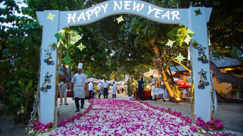 nowy rok w ciepłych krajach
