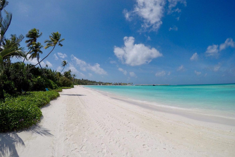 plaże malediwów