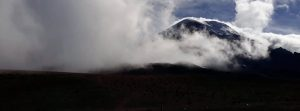 Wulkan Chimborazo Ekwador Ameryka Południowa