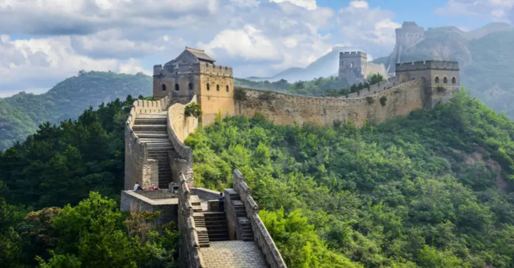Wielki Mur Chiński Pekin Chiny