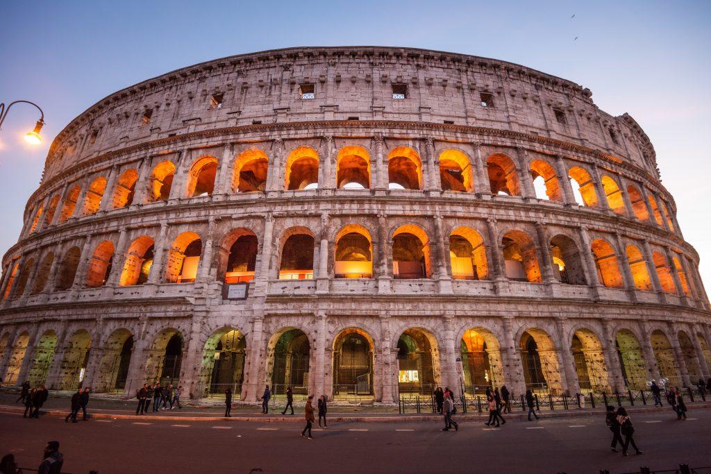 Koloseum Rzym Włochy