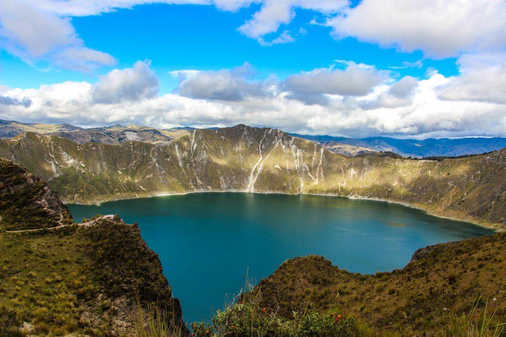 Ekwador jezioro