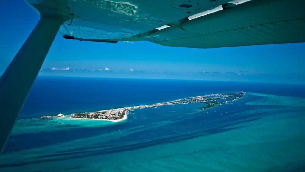 karaibska plaża Isla Mujeres Meksyk